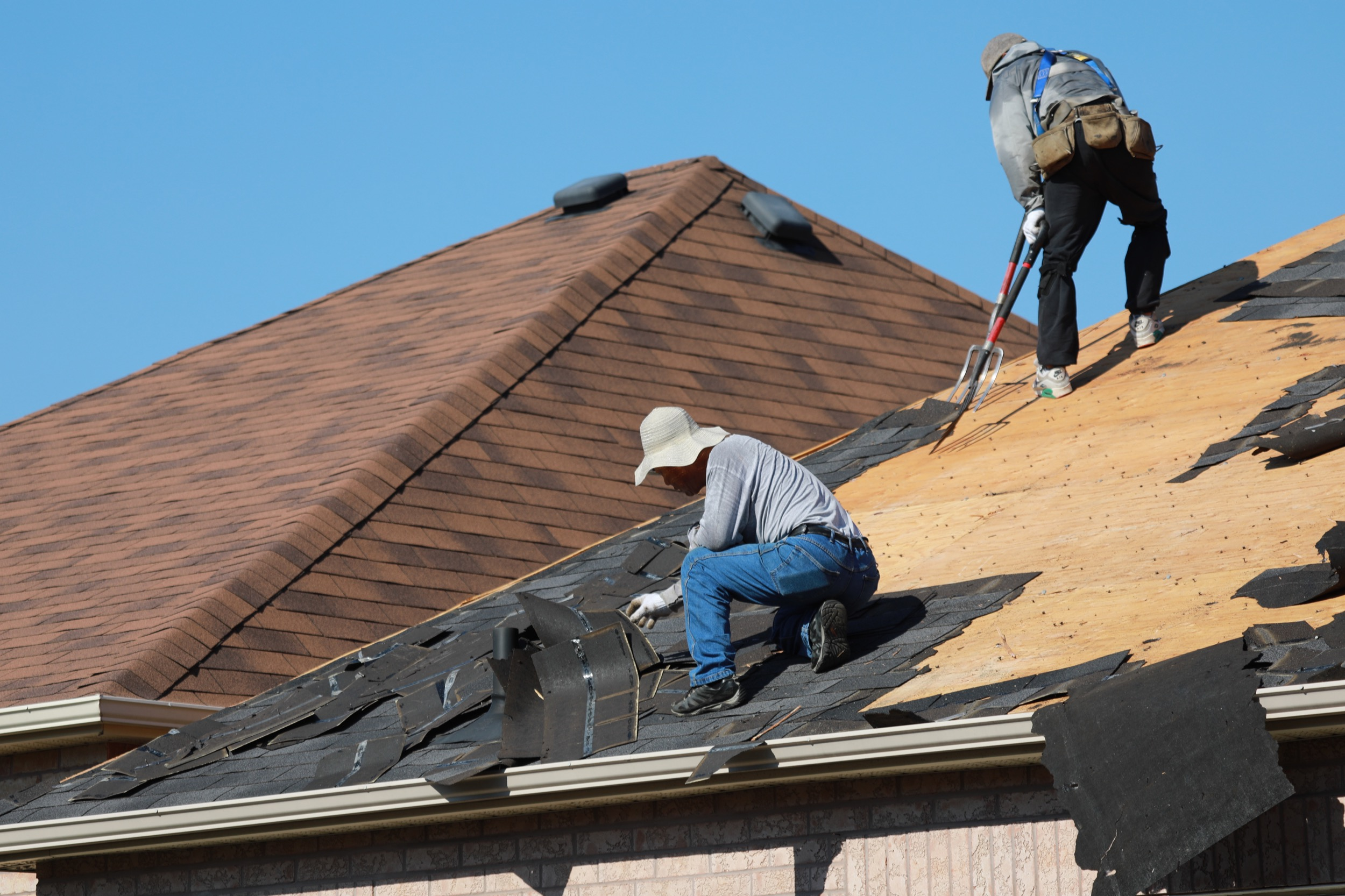 Roof Repair in Hobby, Texas
